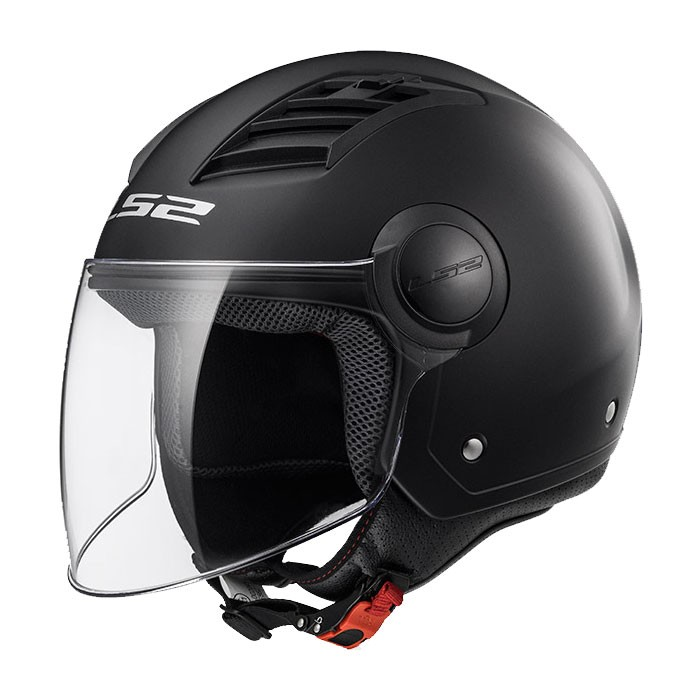 CASCO LS2 AIRFLOW L OF562 NEGRO MATE