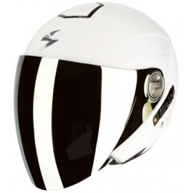 CASCO SCORPION EXO-210 AIR UNI BLANCO BRILLANTE