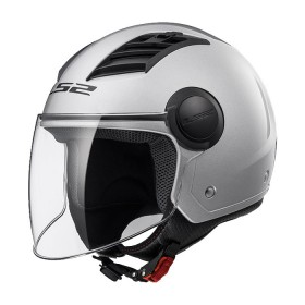 CASCO LS2 AIRFLOW L OF562 PLATEADO